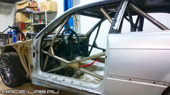 Изготовление каркаса безопасности по приложению J на BMW E36