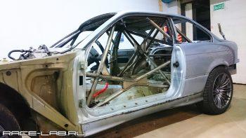 Изготовление каркаса безопасности на BMW E36