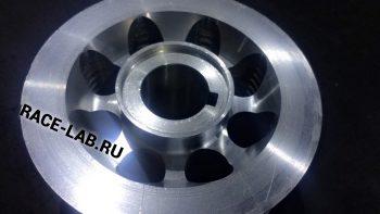 Легкий алюминиевый шкив компрессора