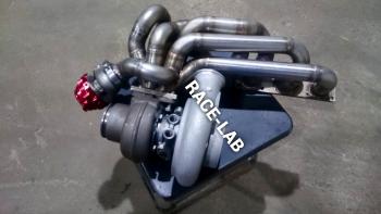 Турбоколлектор под турбину Holset на BMW М54 3.0