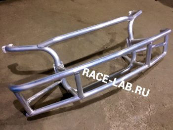 Изготовление алюминиевого башбара для BMW E36